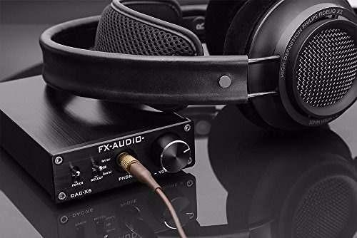 fx coaxial usb amplificador audio digital decodificador dac