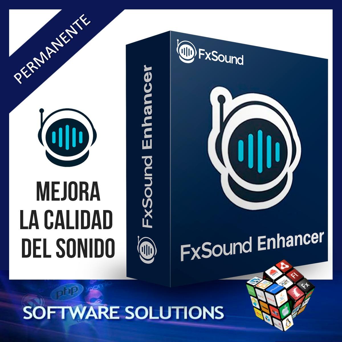 Fx Sound Enhancer Premium 2019 Mejora La Calidad Del Sonido