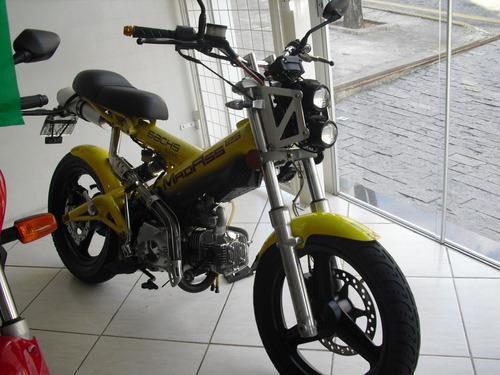 fym madass 125 amarela