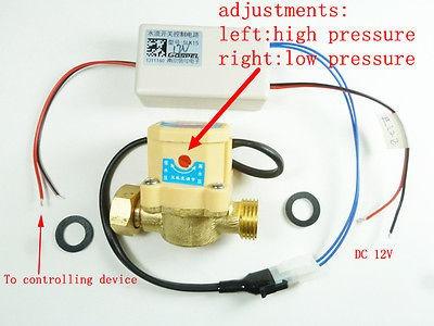 g 1/2 20 mm presión caudal de agua encendido/apagado interru