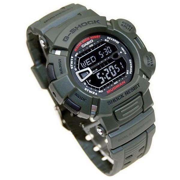 35ab6ed9836 G-9000 3vdr Relógio Casio G-shock Mudman Verde Oliva - R  584