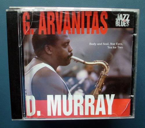 g. arvanitas - d.murray- cd