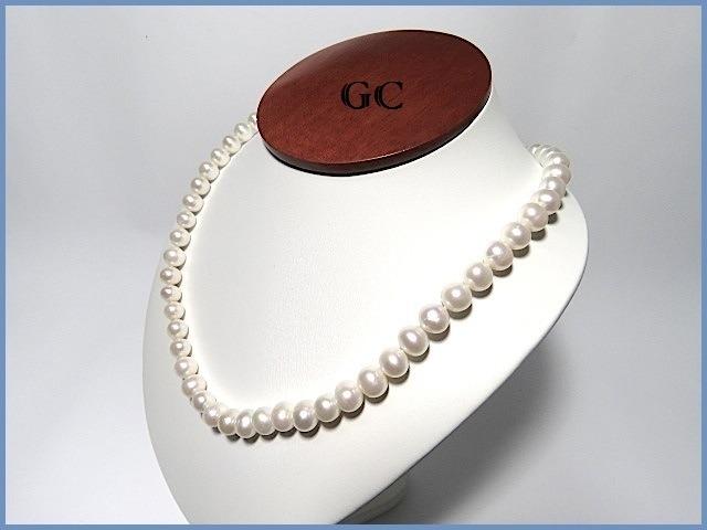 1563732ad72a G C- Collar De Perlas Naturales Con Broche Oro 18k Sencllo ...
