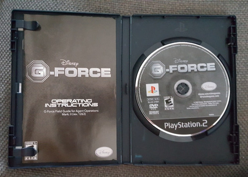 g force playstation 2