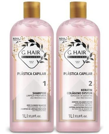 g hair plástica capilar inoar 2x1000ml