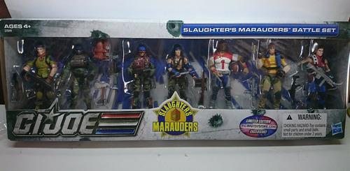g. i.joe slaughter's marauders 7 pack battleset bbts límitd
