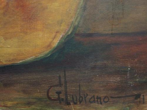g. lubrano / naturaleza muerta / oleo / 60 x 70  # 1625