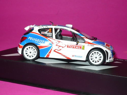 g. pozzolo - altaya-ixo colección rallye peugeot 207 s2000