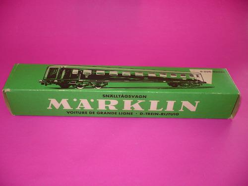 g. pozzolo - altaya marklin nº 4027 caja vacía original