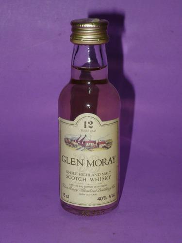g. pozzolo - botellita de colección glen moray 12 whisky