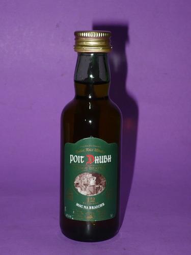 g. pozzolo - botellita de colección poit dhubh 12 whisky
