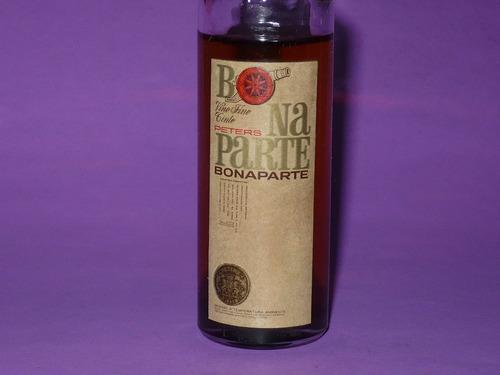 g. pozzolo - botellitas de colec. bonaparte vino tinto