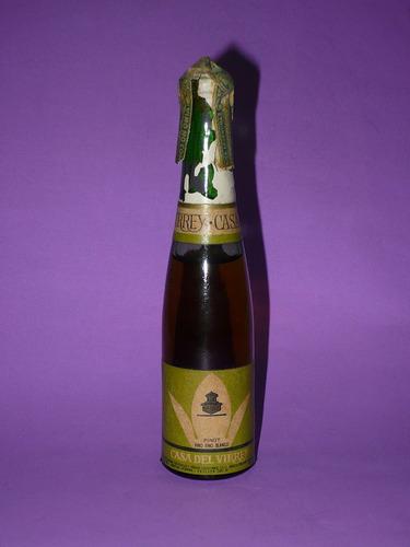 g. pozzolo - botellitas de colec. casa del virrey vino blanc