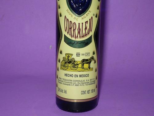 g. pozzolo - botellitas de colec. tequila corralejo - mexico