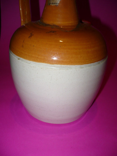 g. pozzolo - botellón de ceramica ye monks whisky vacia