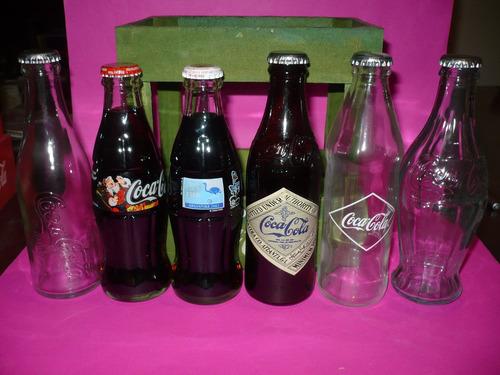 g. pozzolo - coca-cola cajoncito con 4 históricas y 2 llenas