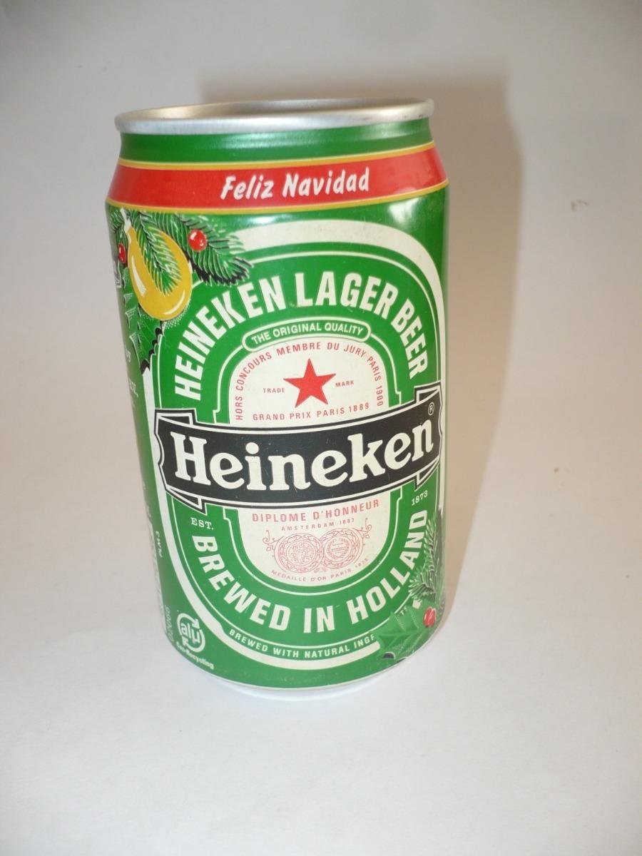Heineken Feliz Navidad.G Pozzolo Lata De Cerveza Heineken Feliz Navidad Vacia 50 00