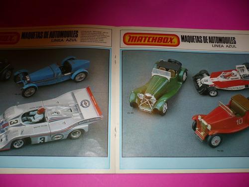 g. pozzolo - matchbox catalogo general original 1979/1980