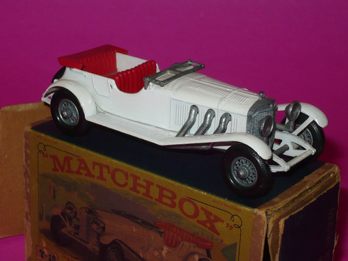 g. pozzolo - matchbox yesteryear nº y-10 mercedes benz 36