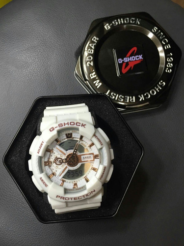 g-shock digital com ponteiro