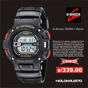 Casio 1v 9000 100Local Mudman Shock Reloj Comercial G BerCxdo