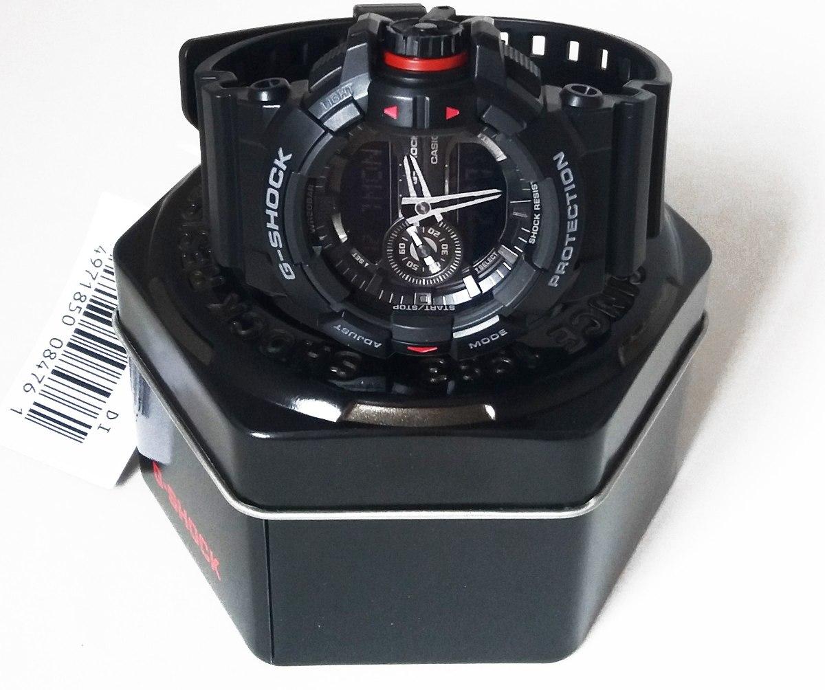 d54445f6f87 g-shock ga-4001b preto 100% novo e original + frete gratis. Carregando zoom.