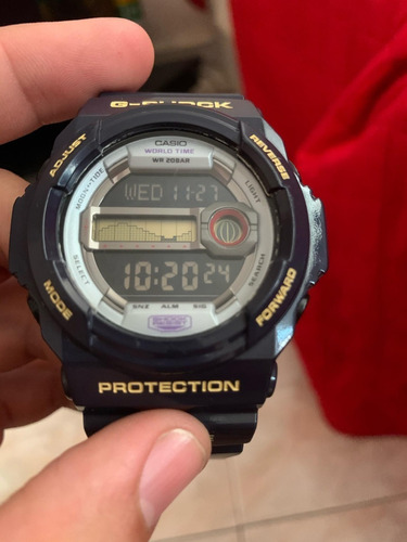 g-shock relógio casio masculino g lide glx-150 roxo