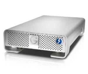 g-technology g-drive con solución de almacenamiento thunderb
