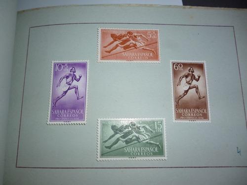 g w sellos de españa
