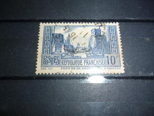 g w sellos de francia 474 tipo ii -1929 isado