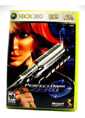 g0319 xbox 360 videojuego videogame perfect dark zero