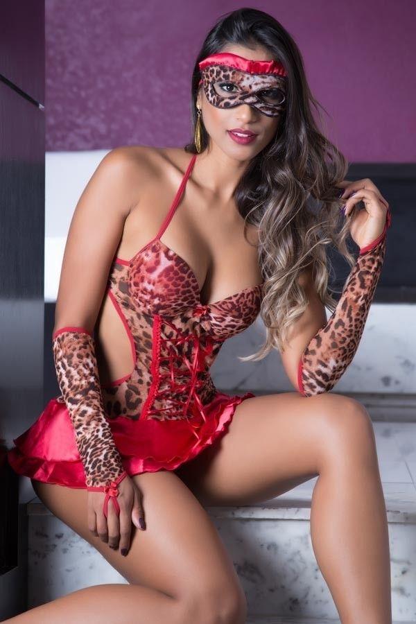 1fa730c5b g037 lingerie sensual body fantasia penelope bojo luvas. Carregando zoom.