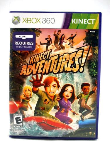 g0437 xbox 360 videojuego videogame kinect adventures