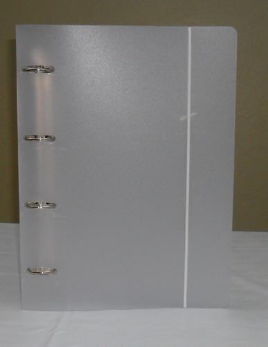 g1561 - pasta fichário com argolas