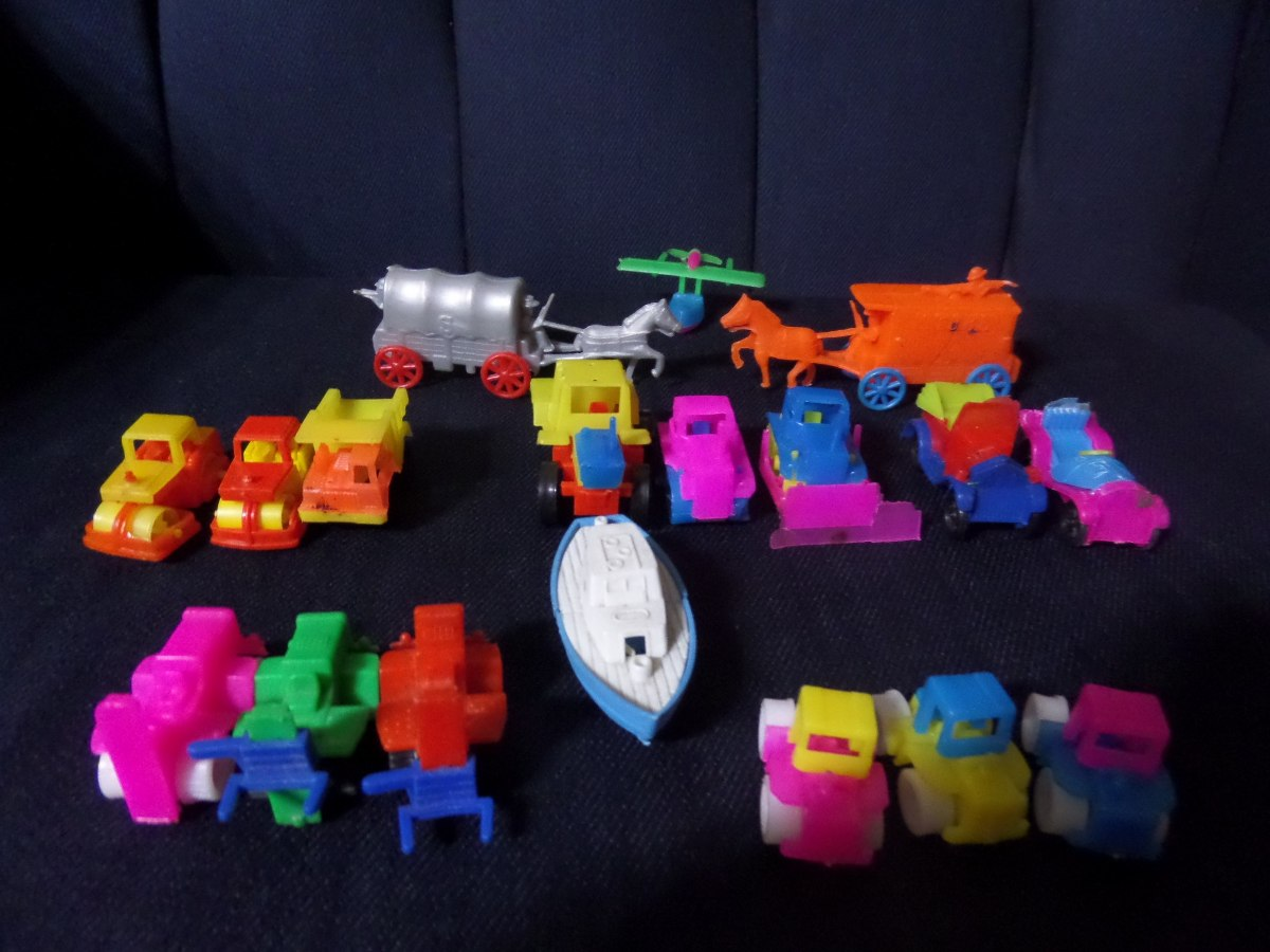 G25 antiguos juguetes de coleccion de plastico peque os for Juguetes de plastico