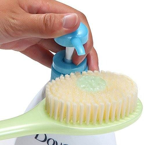 g2plus cepillo de baño suave para la espalda con 14 '' !