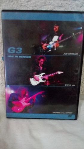 g3 live 2 dvds