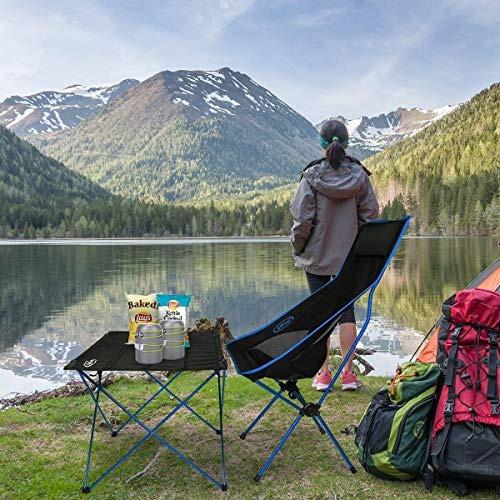 Senderismo G4Free Silla port/átil Ligera para Exteriores Picnic para Camping Pesca Playa Plegable para Deportes