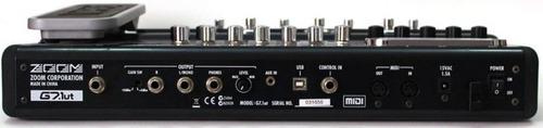 g7.1ut pedaleira zoom valvulada c/ pedal de expressão g7 1ut