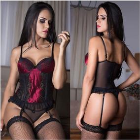961d33719 Espartilho Lingerie Sinta Liga no Mercado Livre Brasil