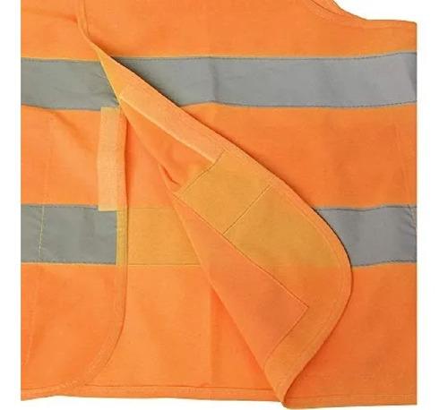 ga3011 chaleco alta visibilidad tela naranja exgde dogo tuls