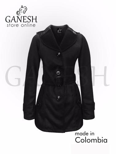 gabán chaqueta elegante mujer dama paño ganesh holanda