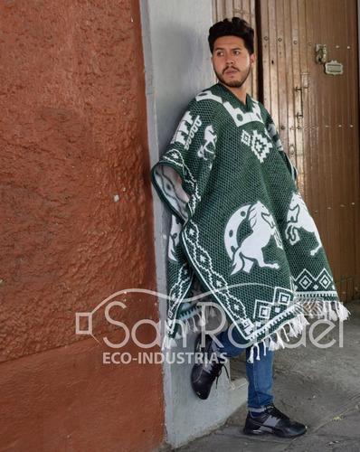 gabán diseño mexicano - caballos - varios colores