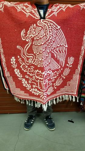 gabán jorongo afelpado artesanía 100% tlaxcalteca