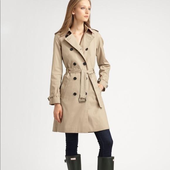 Tfzqrt Hunter Gabardina Abrigo Mujer Khaki 00 Trench Coat Mediano 260 866pqz