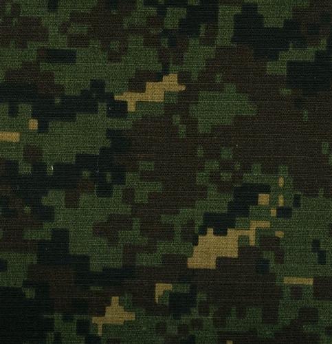 gabardina ripstop camuflaje pixel verde militar