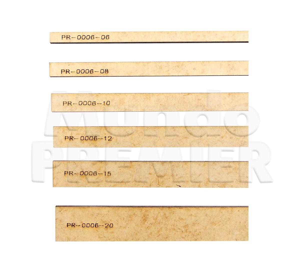 c5227f33c Gabarito Para Encadernação 6 8 10 12 15 18 E 20mm Artesanato - R  15 ...