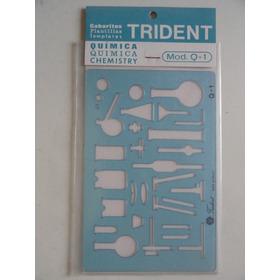 Gabarito Trident - Química Mod Q-1 - Desenho Projeto - Novo
