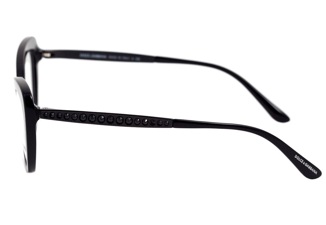 Carregando zoom... dolce   gabbana dg 3275 b - óculos de grau 2525 preto b7aec159d0