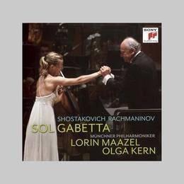 gabetta sol shostakovich concert nº 1 rachmaninov cd nuevo